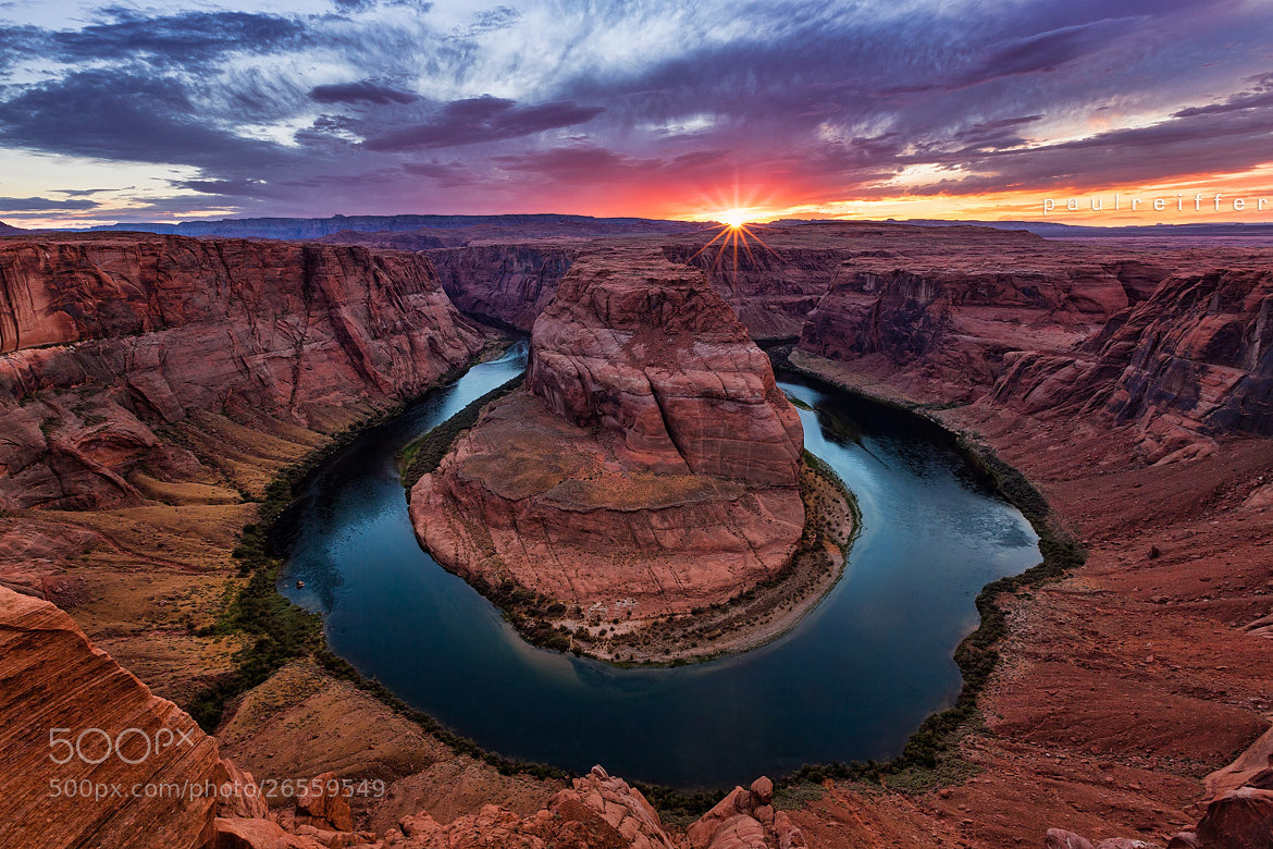 Photograph Horseshoe Bend - Sunset by Paul Reiffer on 500px