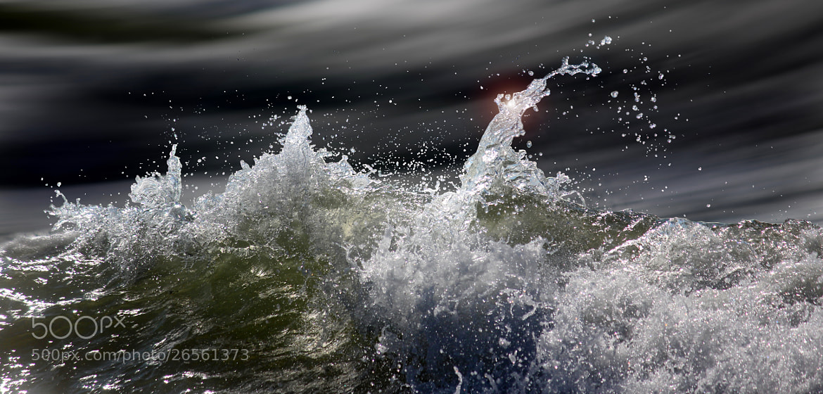 Photograph waves-IMG_2287-b by Jan-Peter Semmel on 500px