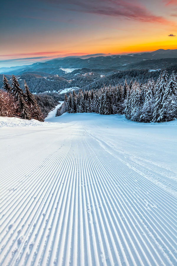 Photograph Ski Run by Evgeni Dinev on 500px