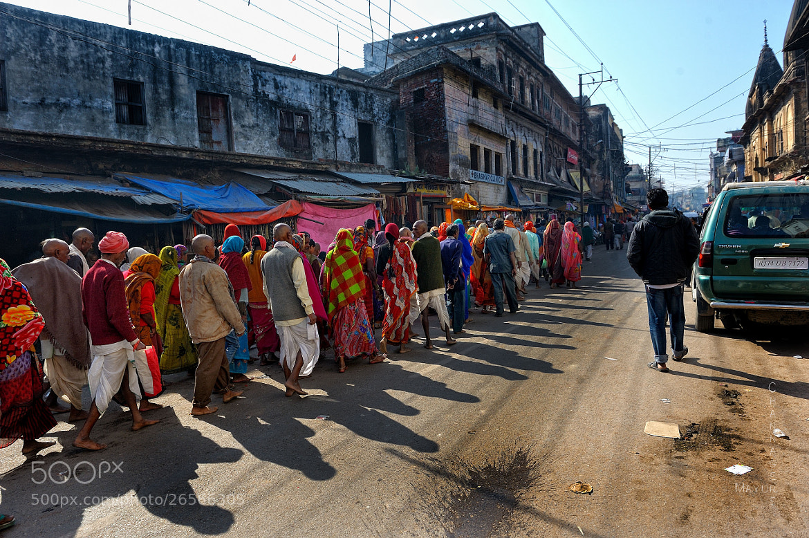 Photograph Ram भक्त (bhakt) - ( Followers of Lord Ram ) on the streets of Ayodhya  by Mayur Channagere on 500px