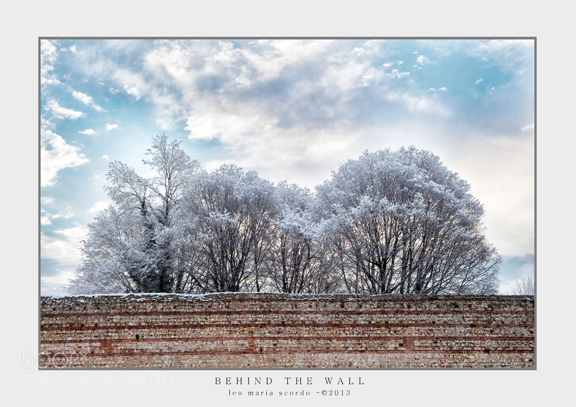 Photograph BEHIND THE WALL by Leo Maria Scordo on 500px