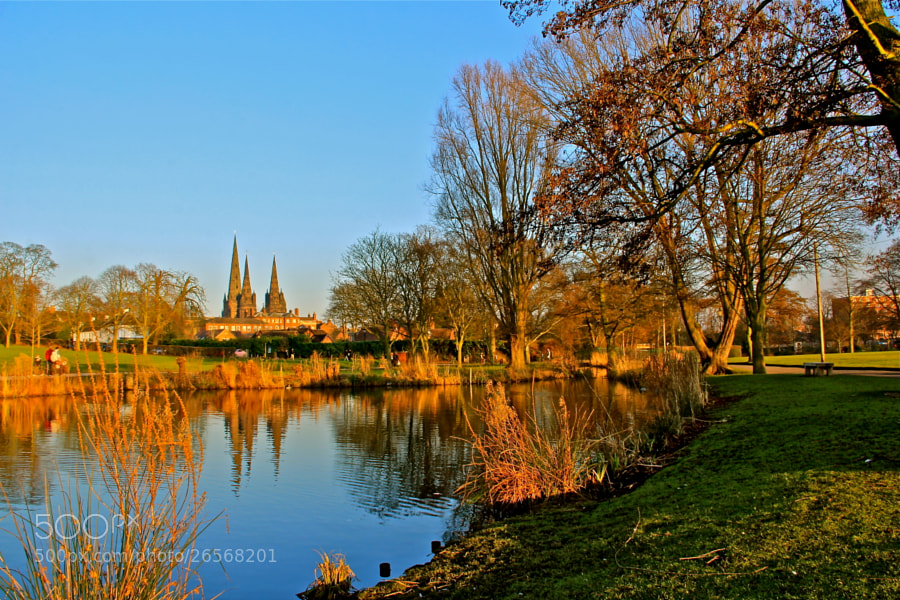 Photograph Lichfield Cathedral by Poh Huay Suen on 500px