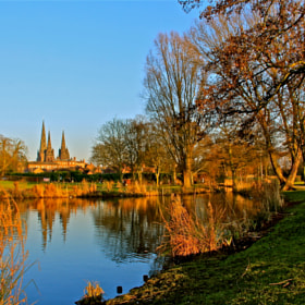 Lichfield Cathedral by Poh Huay Suen (CatherineSuen)) on 500px.com