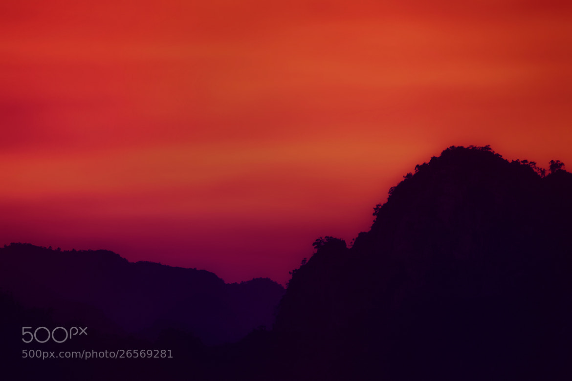 Photograph Sunset in Technicolor by Rafa Galante on 500px