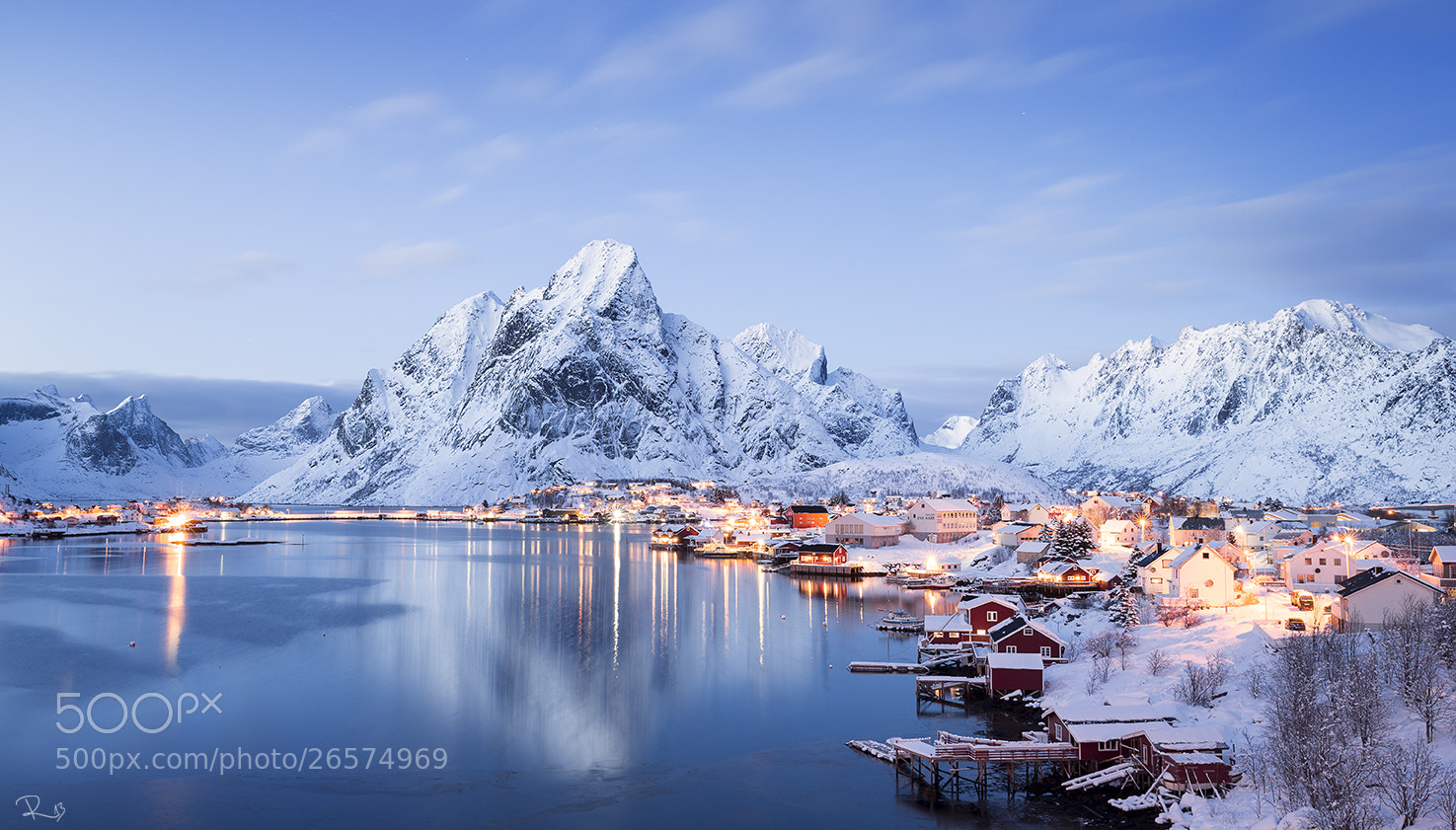 Photograph Blue Reine by Felix Röser on 500px