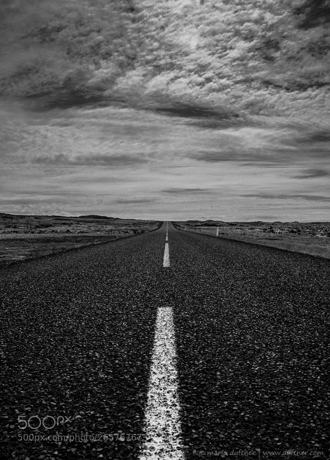 Photograph RoadView Iceland by maria duftner on 500px