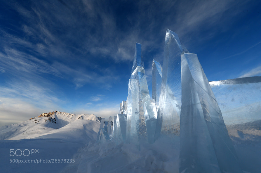 Photograph Ice in the Sky  by Pierluigi Orler on 500px