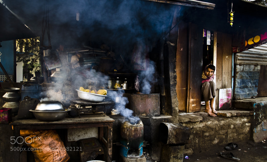 Photograph Local indian street shop by Santu Mondal on 500px
