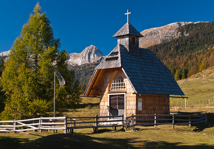 Photograph Church of the mountains by Brane Kosak on 500px