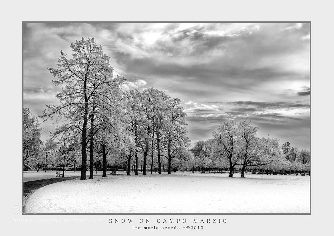 Photograph SNOW ON CAMPO MARZIO by Leo Maria Scordo on 500px