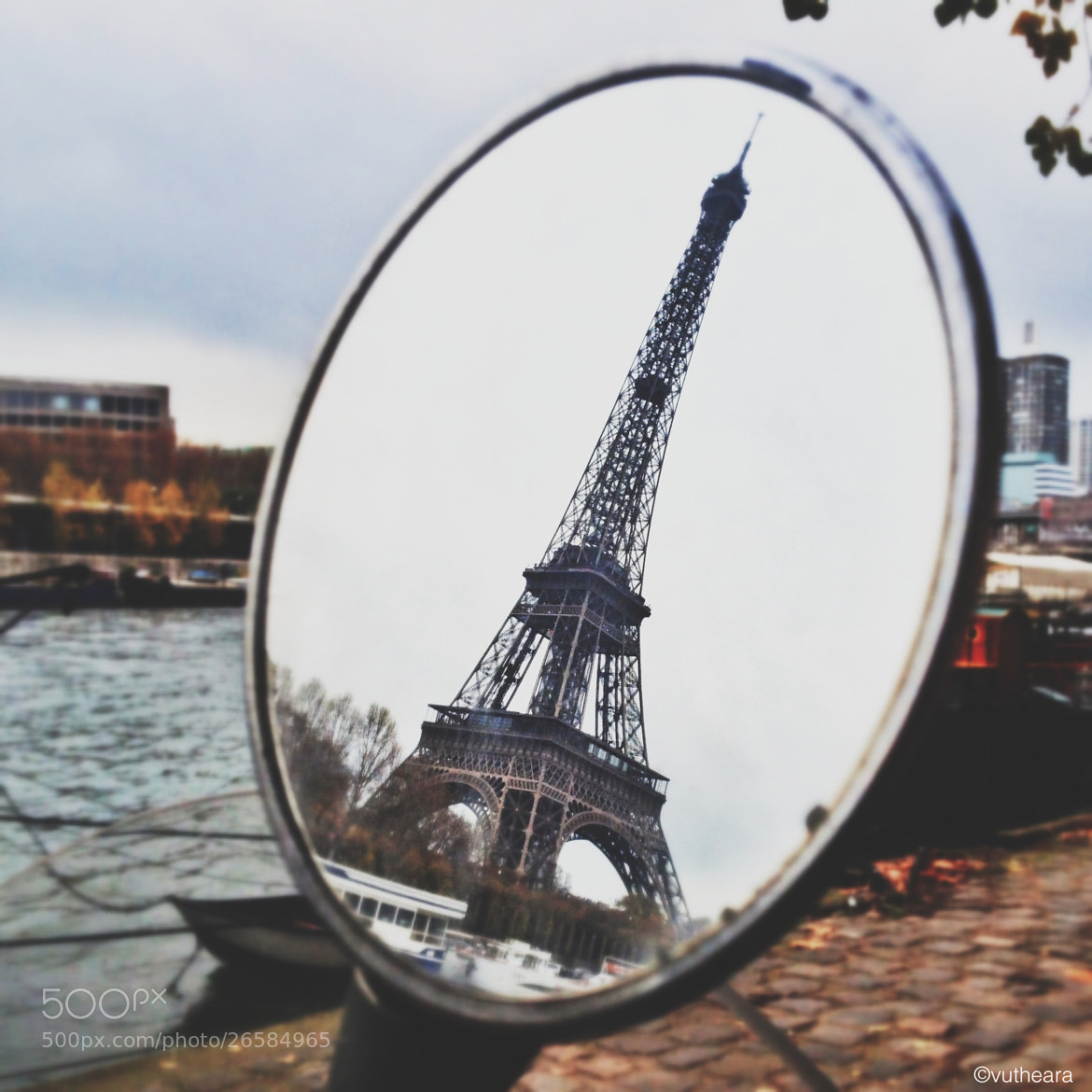 Photograph Eiffel reflection by VuThéara Kham on 500px