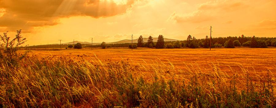 Sunset in the Harz von G. Matthias Schüler - gmsfotos auf 500px.com