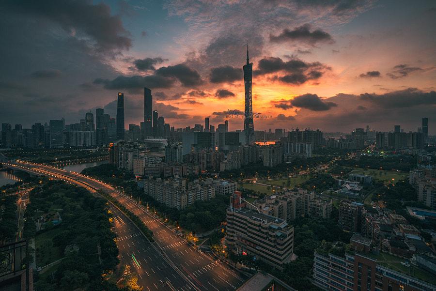 城市中轴, автор — 一诚  на 500px.com