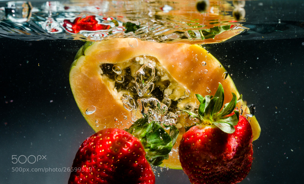 Photograph Fruit splash by ElSauza on 500px