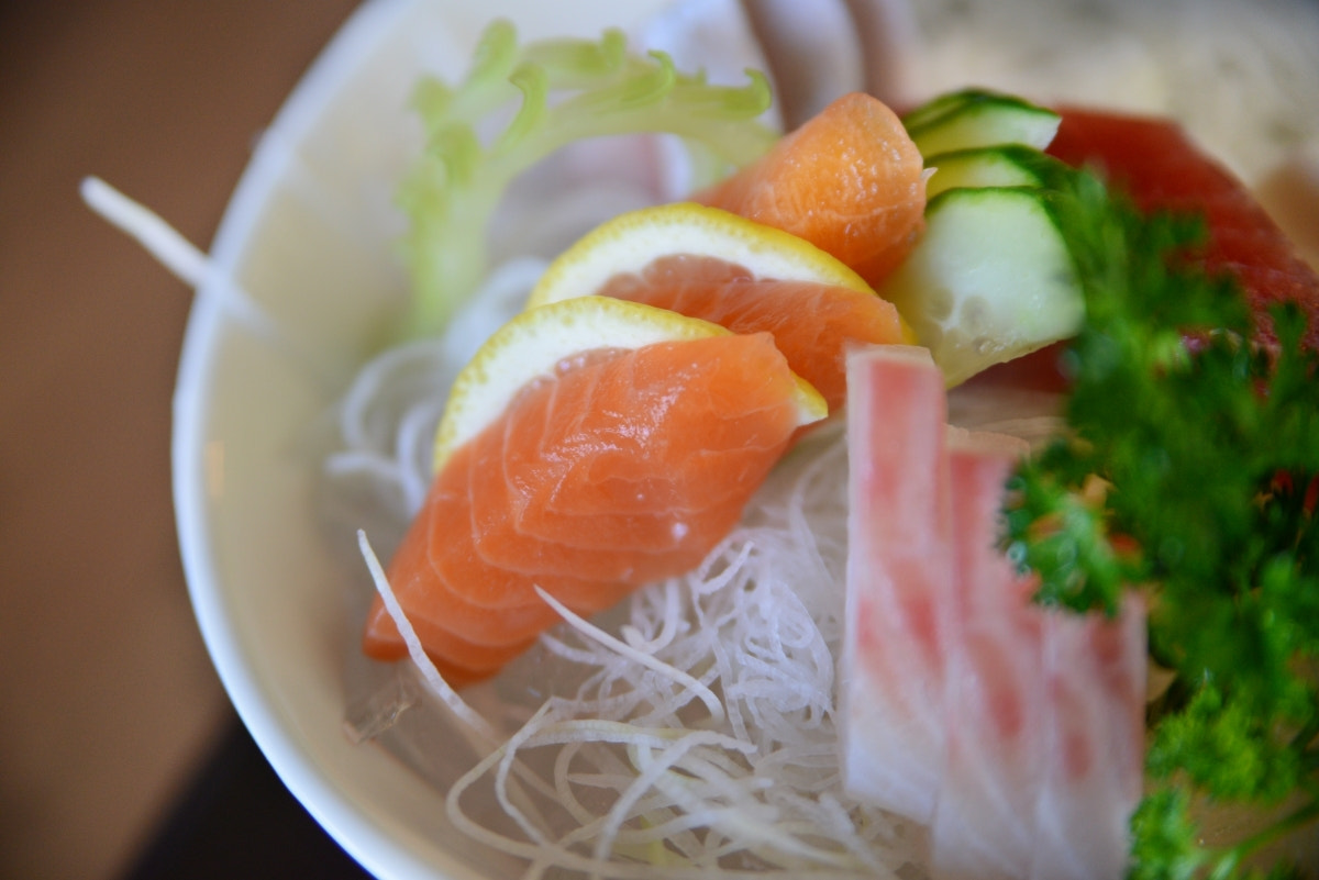 Photograph Sashimi-Sake by Sushil Kumar on 500px