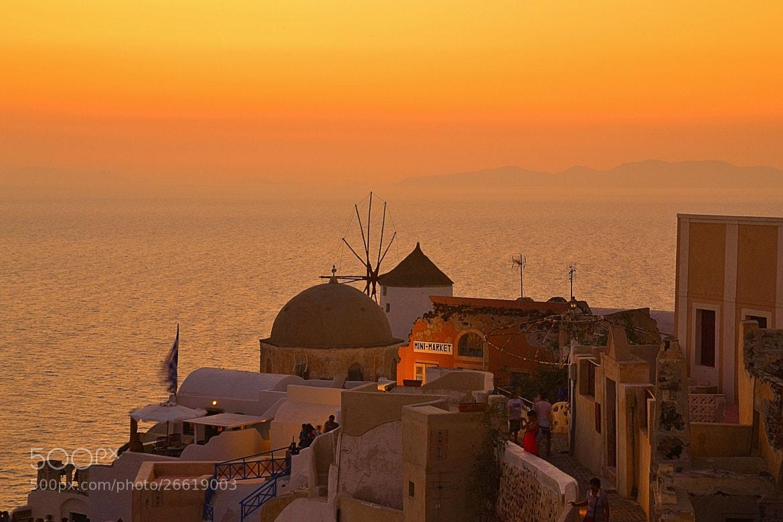 Photograph Sunset in Santorini by Zeynep Ugurdag on 500px