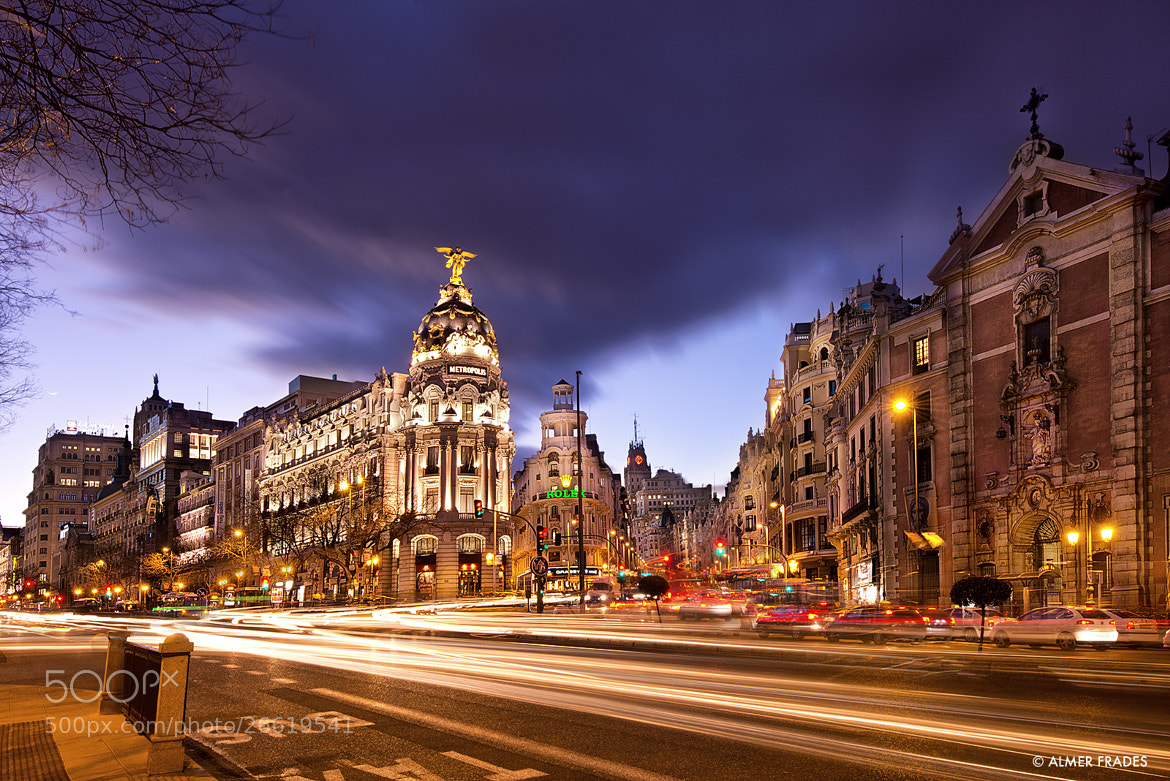 Photograph Gran Via by Almer  Frades on 500px