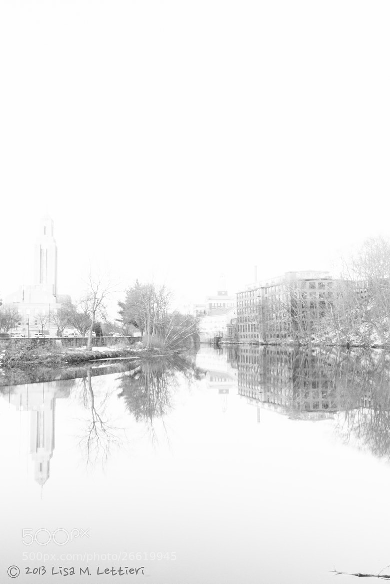 Photograph Pawtucket BW by Lisa Lettieri on 500px