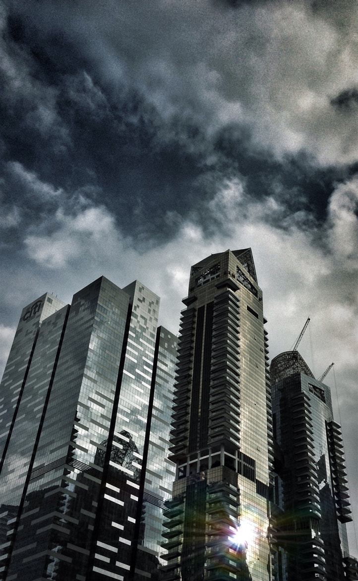 Photograph City storm brewing by Teelip Lim on 500px