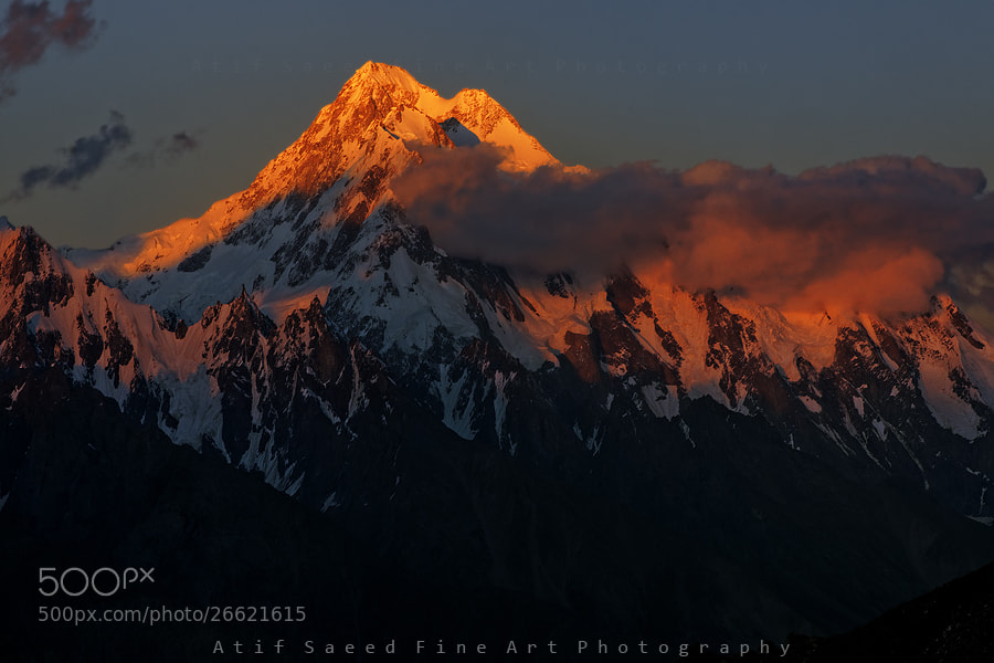 Photograph Kunyang Chhish 7852M.. by Atif Saeed on 500px