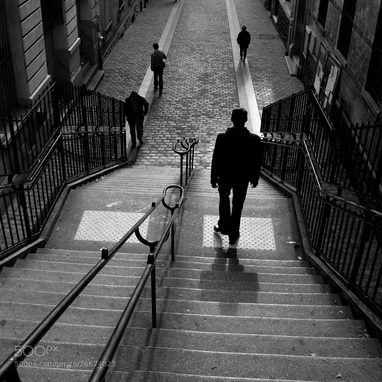 Photograph Belleville-Ménilmontant by Olivier Bergeron on 500px