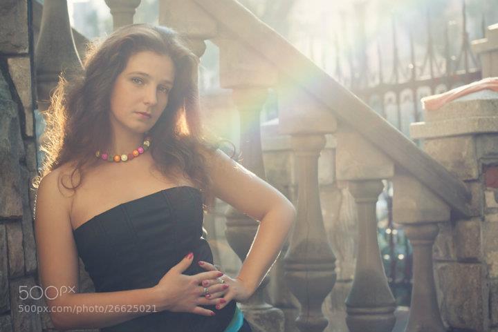 Photograph rainbow-girl :) by Yulia Pletinka on 500px