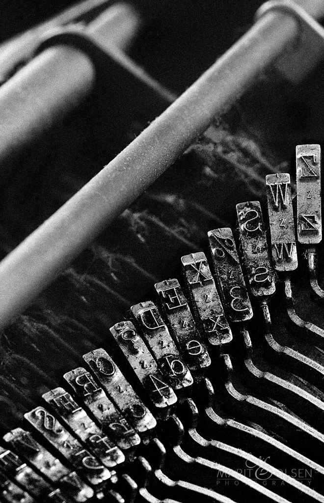 Photograph Old typewriter by Marit Olsen on 500px