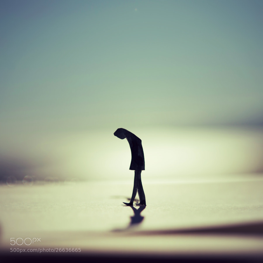 I lost my way.  So I walk.