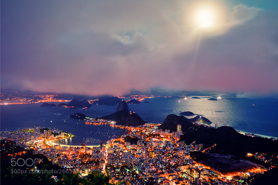 Photograph Rio at Night by Isac Goulart on 500px