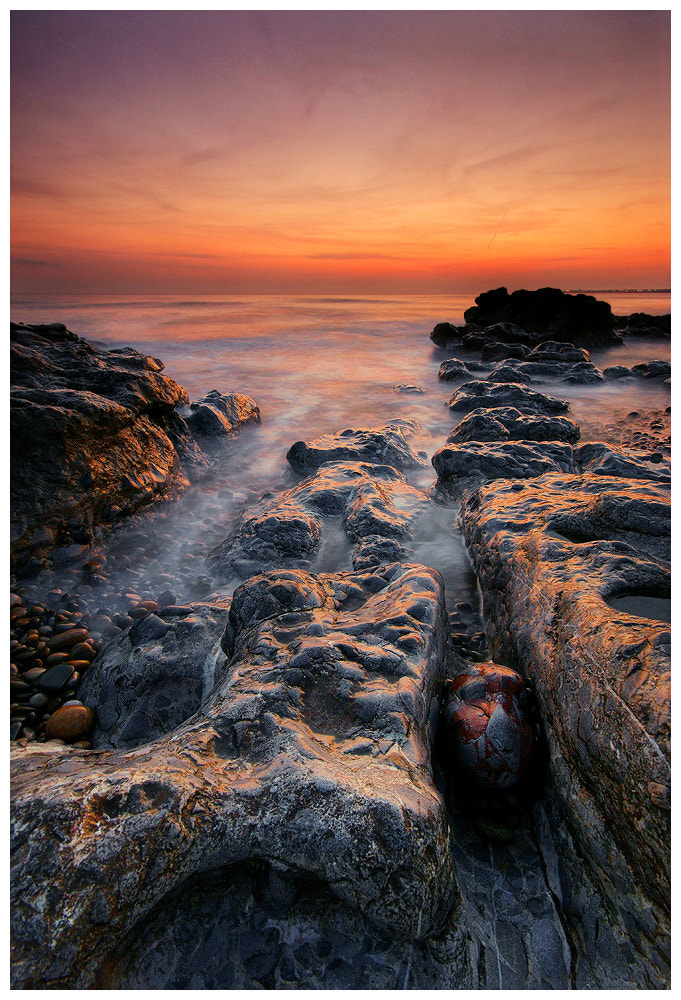 Photograph Ogmore Sunset by Geoffrey Baker on 500px