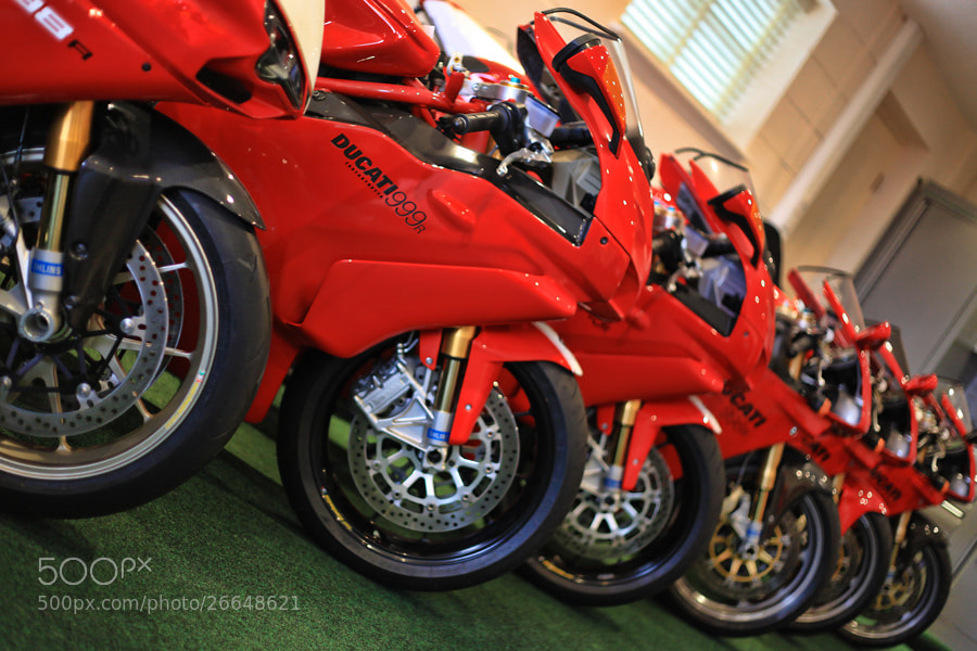 Photograph ducati garage   by Neil Arcus on 500px