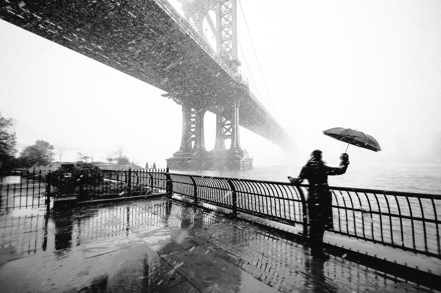 Photograph New York snow storm by Guillaume Gaudet on 500px