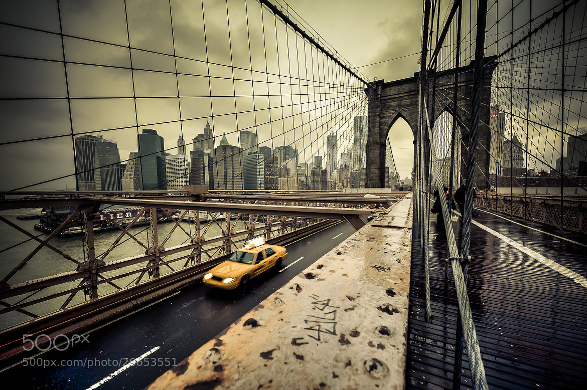 Photograph Brooklyn Bridge after the storm, New York by Guillaume Gaudet on 500px
