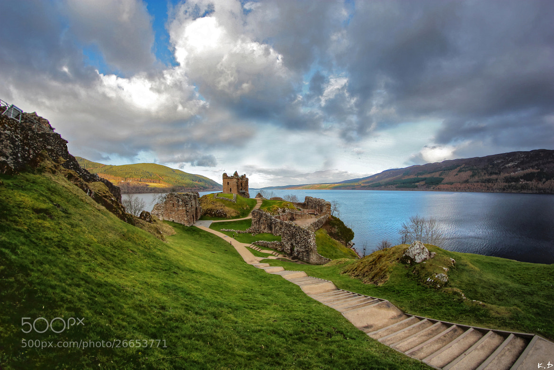 Photograph Urquhart Castle by Kevin Delajoud on 500px