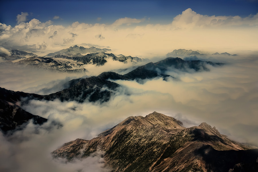 Photograph Above the clouds... by ilker erdogru on 500px