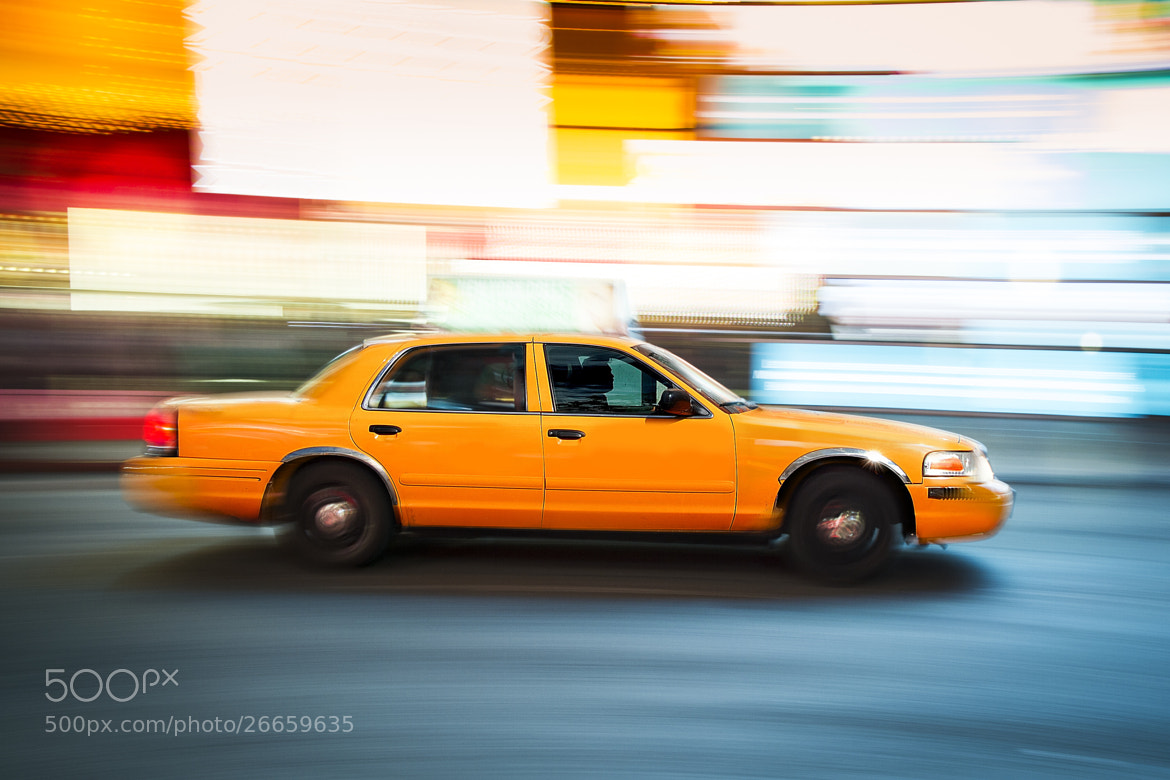 Photograph New York City Taxi by NDStudio Fotografi on 500px