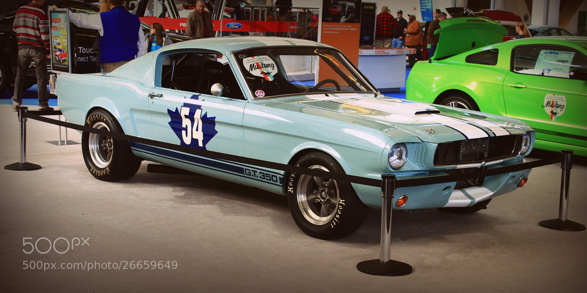 Photograph Classic Mustang G.T. 350 by Andrew Stein on 500px