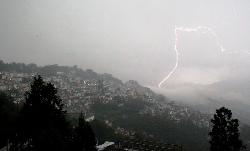 Photograph Gangtok Under Attack by Biman Dey Sarkar on 500px