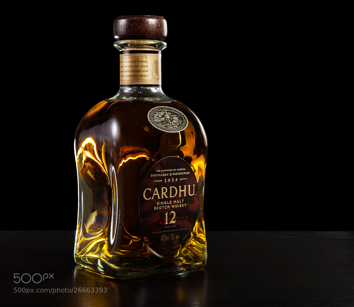 Photograph cardhu whisky by Sylvain Millier on 500px