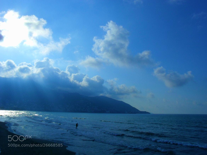 Photograph Blue Loneliness by Melike Arık on 500px