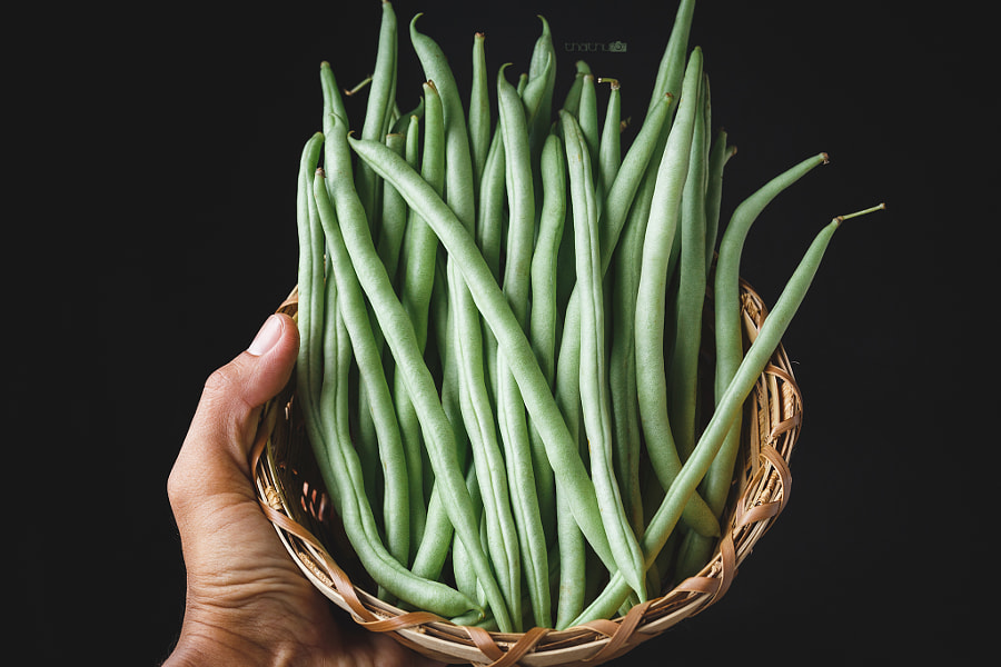 French beans on the dark background by Thai Thu on 500px.com