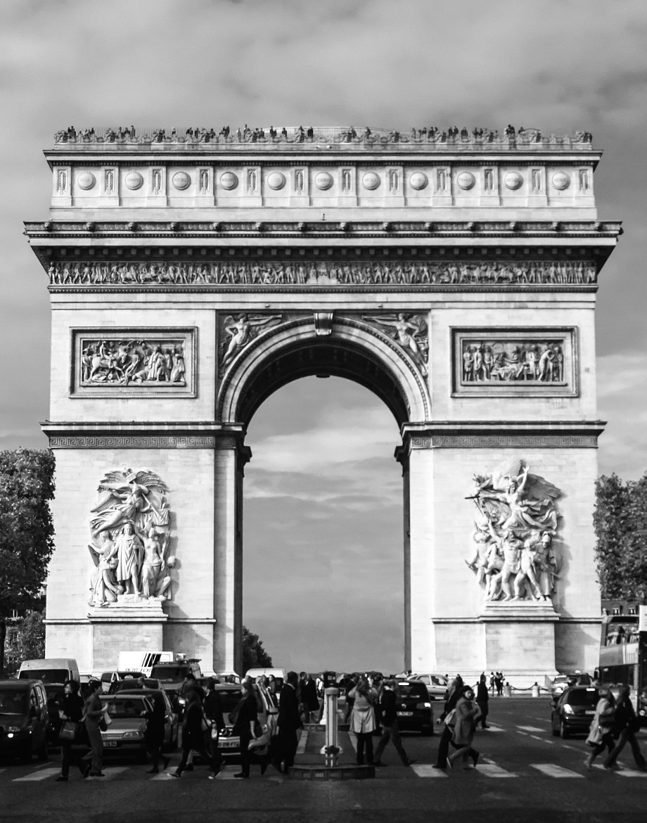 Photograph Arc De Triomphe by Tony Boyajian on 500px