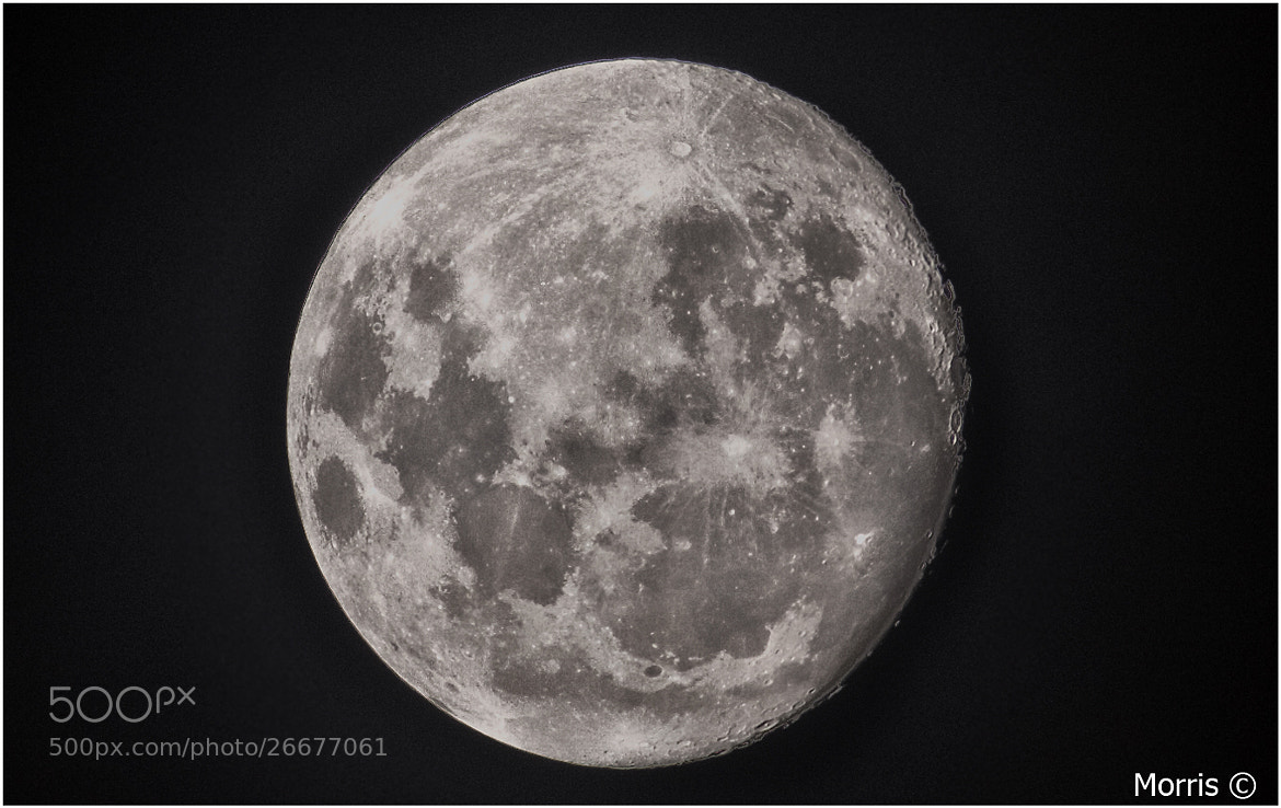 Photograph HDR Moon by Dave Morris on 500px