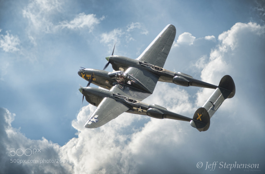 "Photograph P-38 Lightning ""Ruff Stuff"" by Jeff Stephenson on 500px"