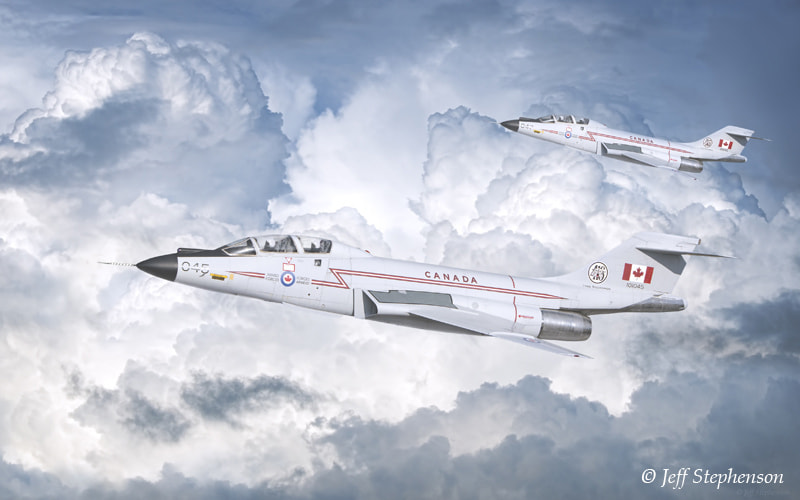 Photograph CF-101 Voodoos by Jeff Stephenson on 500px