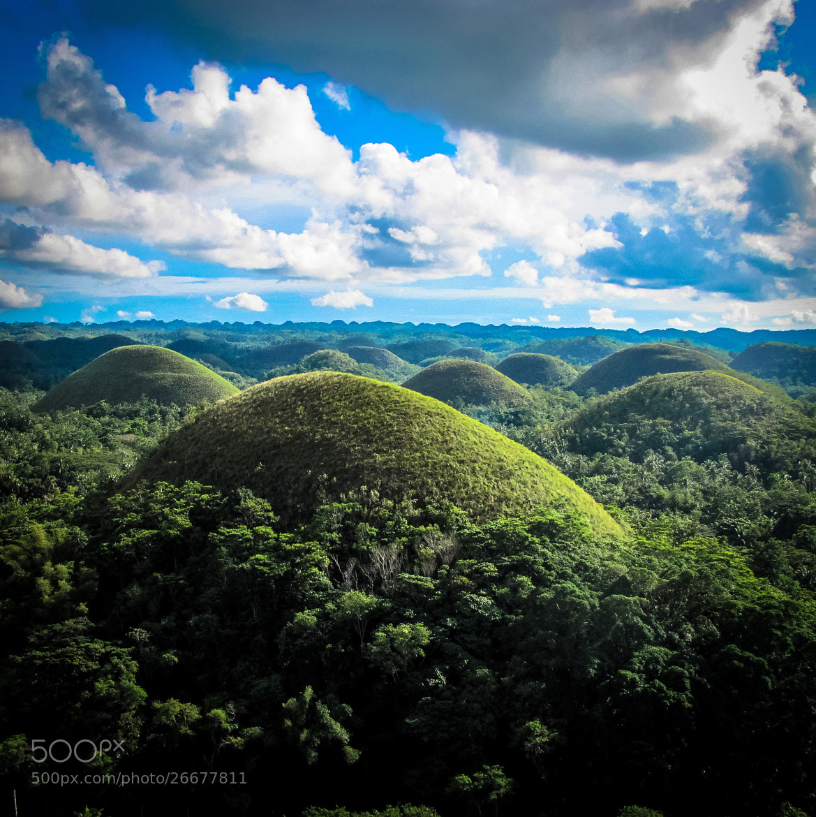 Photograph Chocolate Hills National Monument, Bohol Province by AEvg on 500px