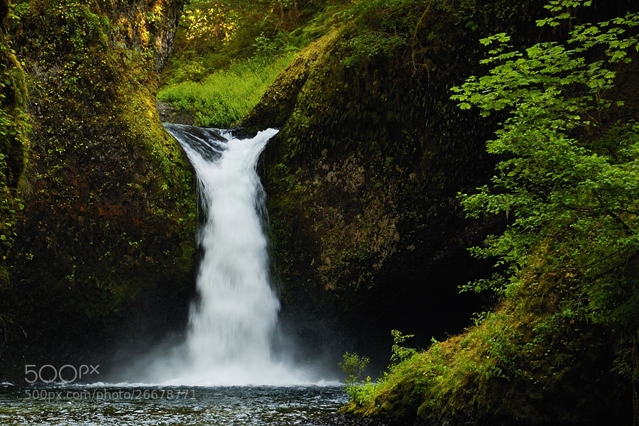 Photograph Close-up Punchbowl Falls by Jimmy De Taeye on 500px