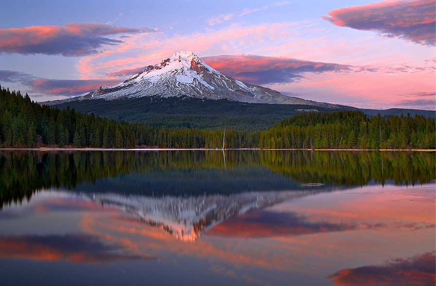 Photograph Mt Hood Majesty by Henrik Anker Bjerregaard  Lundh III on 500px