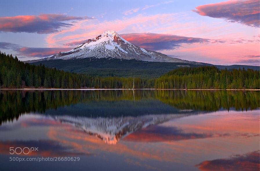 Photograph Mt Hood Majesty by Rick Lundh on 500px