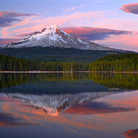 Mt Hood Majesty by Rick Lundh (crazyaboutnature)) on 500px.com